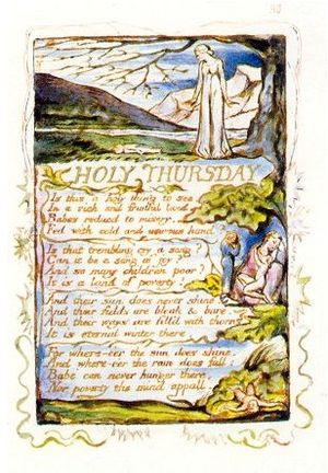 William Blake's Holy Thursday (1794).