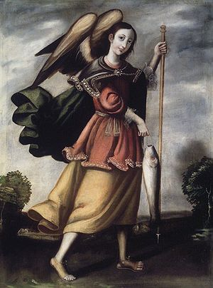 Brooklyn Museum - Archangel Raphael - overall