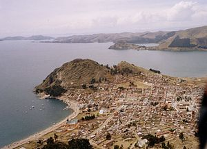 Copacabana peninsula, Lake Titicaca