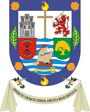 Escudo Gobernador Caraquez