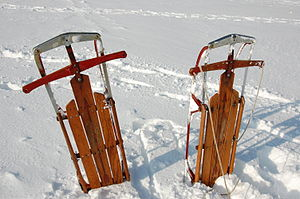 These 40+ year old sleds are completely origin...