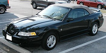 1999-2004 Ford Mustang V6 convertible photogra...
