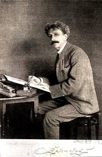 English: Portrait of Fred Barnard ((1846-1896)