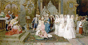 Ceremony of Marriage (Giulio Rosati)