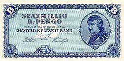 100million b.‑pengő (1946)
