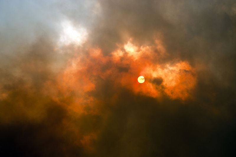 File:High Park fire near Poudre Canyon, Colorado.jpg