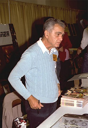 Photo of Jack Kirby at the San Diego Comic Con...