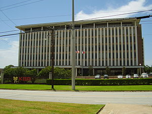 KBR offices on Clinton Drive - Formerly the he...