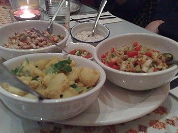 English: Kathmandu cuisine