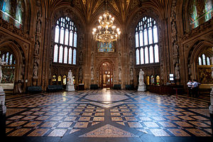 English: House of Lords & House of Commons...