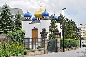 Russian Orthodox Church in Luxembourg City