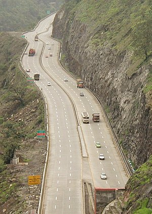 The Mumbai-Pune Expressway India's first Expre...