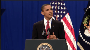 Screenshot of United States President Barack O...