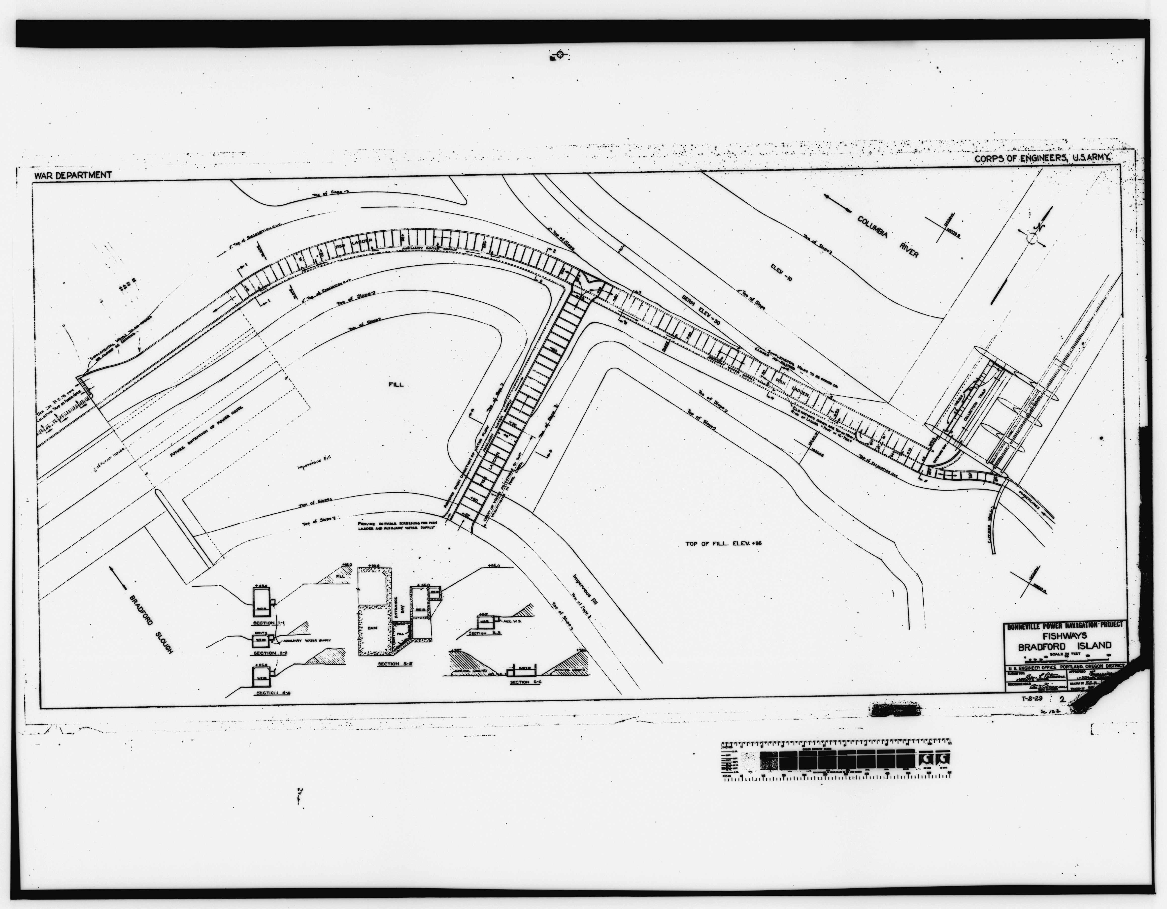 File Photocopy Of Original Construction Drawing Date