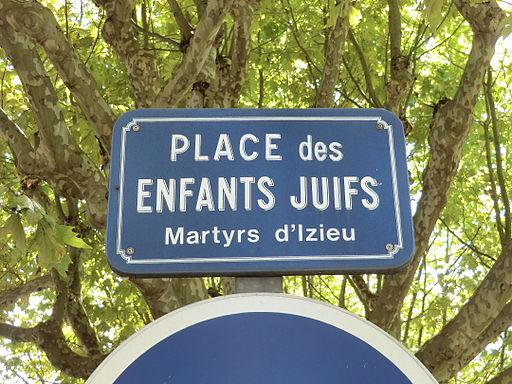 Place des Enfants Juifs (Izieu) à Belley