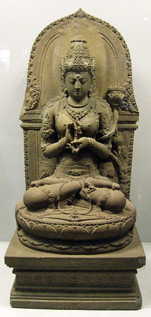 Prajnaparamita, the buddhist goddess of transc...