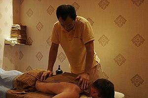 Sport Massage at The Foot Shop, Art Nouveau bu...
