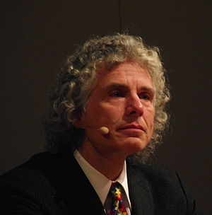English: Steven Pinker at the Göttinger Litera...