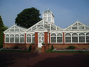 The Glass House, West Park, Wolverhampton. The...