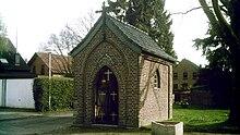 Die St.Hubertus-Kapelle in Oberbeberich.