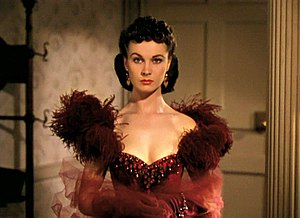 English: Cropped screenshot of Vivien Leigh fr...
