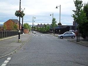 """The Divide"", Ardoyne Road, Belfast ..."