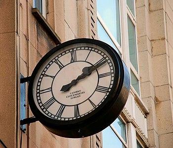 Canavan clock, Belfast A Canavan cloc...