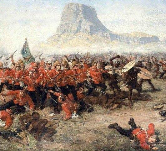 Isandhlwana by Charles Edwin Fripp