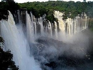 Kalandula waterfalls, Lucala river, Malange, A...