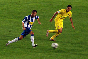 Bruno in action (right)