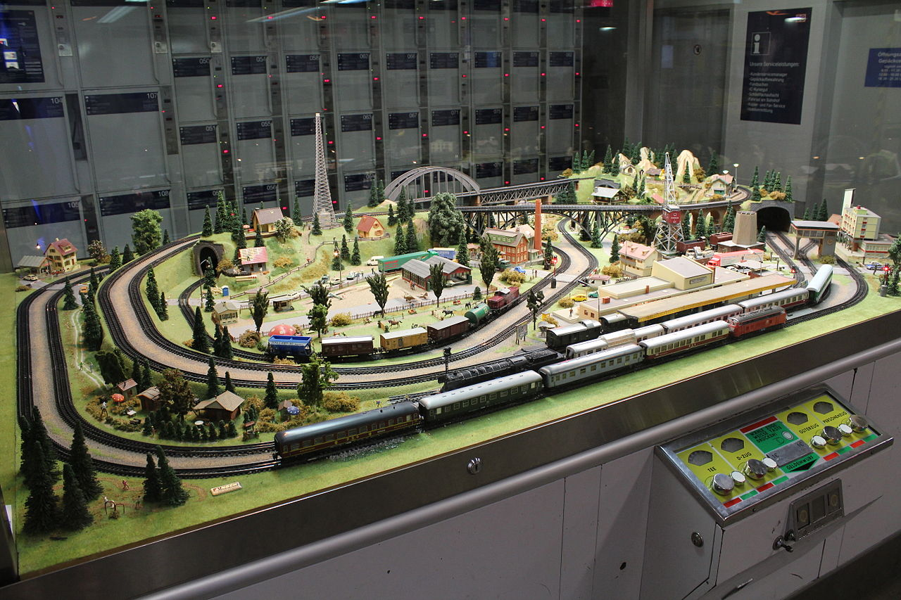 FileModel Railroad Layout Displayed At The Dresden