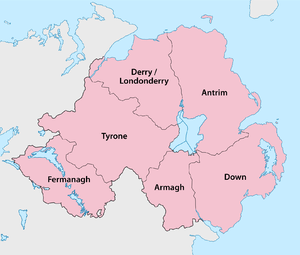 Counties of Northern Ireland