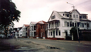 Downtown Paramaribo is a UNESCO world heritage site. (Source: Wikipedia)