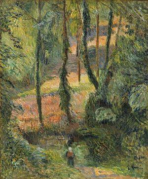 Paul Gauguin - Sous-Bois