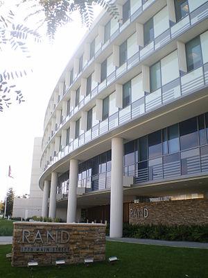 English: Rand Corporation Headquarters, Main S...
