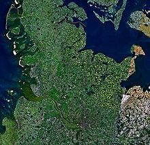 Satalitenbild Schleswig Holstein (Quelle Wikipedia)