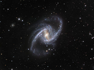 The Great Barred Spiral Galaxy. Credit: ESO/ID...
