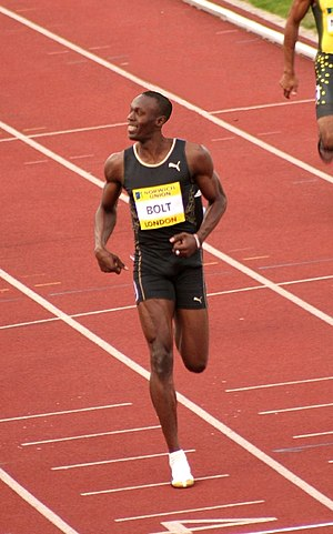 Usain Bolt Crystal Palace Meeting in 2007