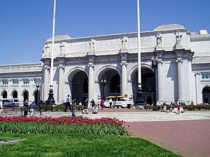 Union Station, the headquarters of Amtrak in W...