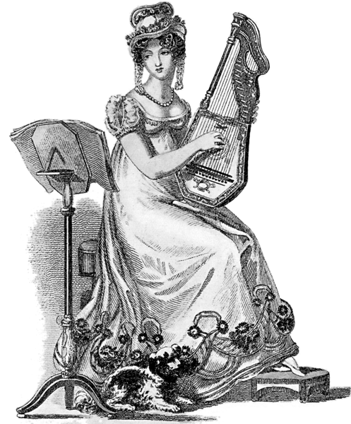 Evening Dress - Women's Regency Fashion & Dress - Philippa Jane Keyworth - Regency Romance Author