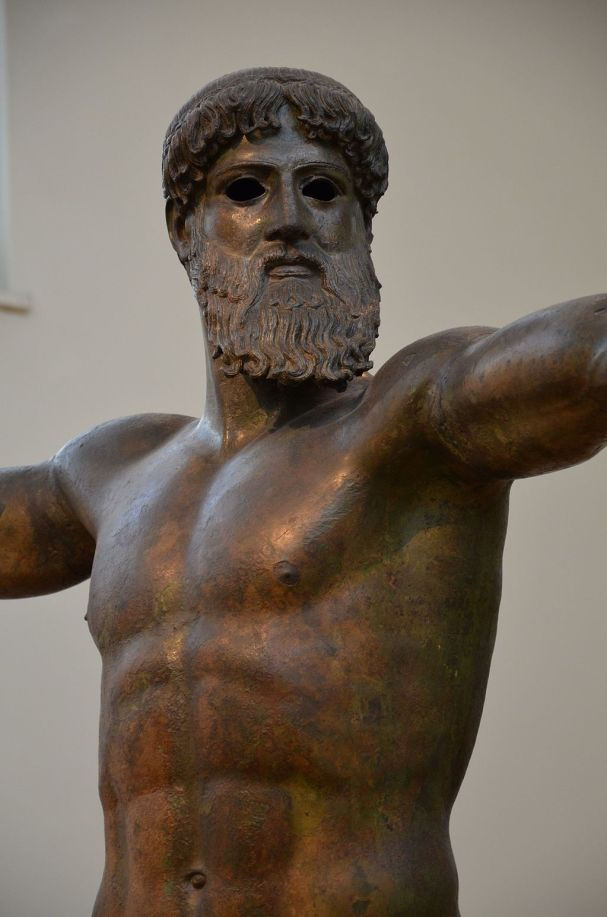 Artemision Zeus or Poseidon, c. 460 BC, Archaeological Museum of Athens (14078492391)