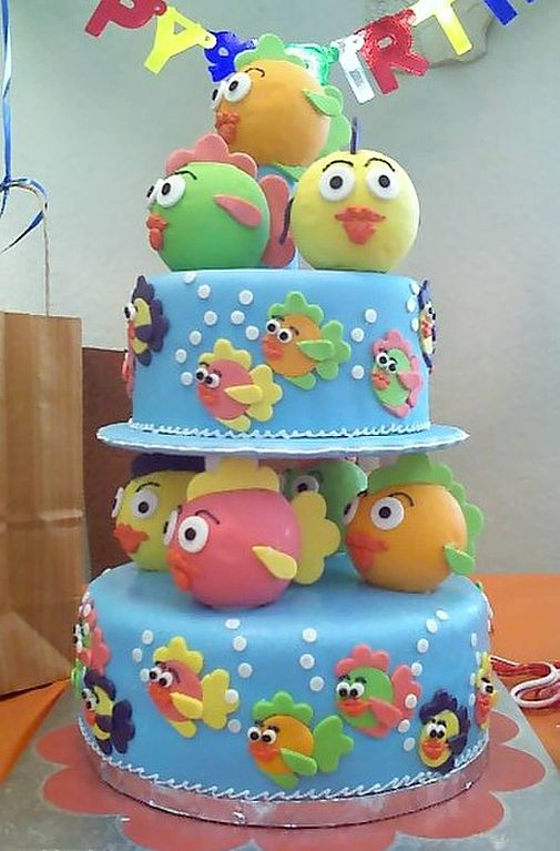 File Birthday Cake For One Year Old Jpg Wikimedia Commons