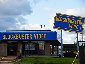 A Blockbuster location in Moncton