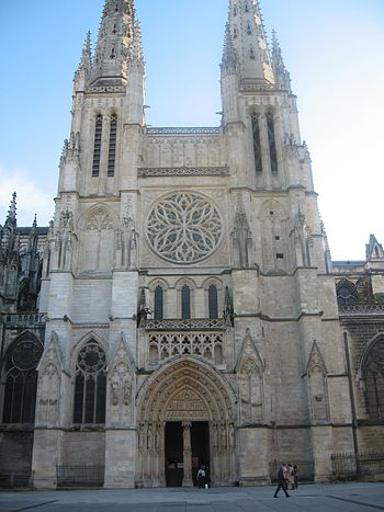 The north-façade of the cathedral