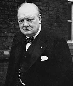 Winston Churchill (1874 – 1965) English: Winst...
