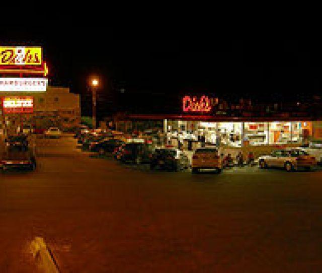 Dicks Original Location In Wallingford On A Summer Night