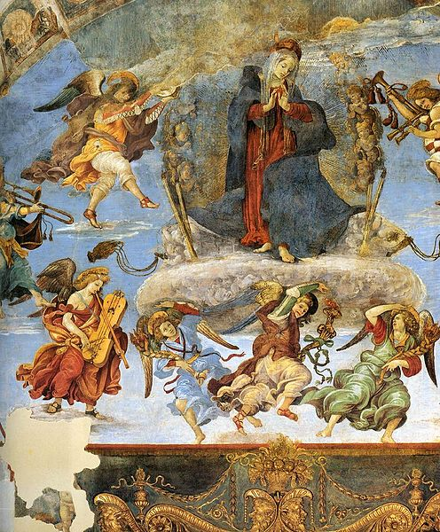 File:Filippino Lippi, Carafa Chapel, Assumption 04.jpg