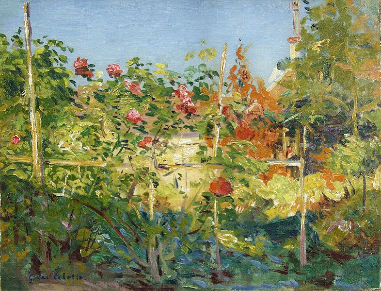 File:Gustave Caillebotte - Garten in Trouville.jpg