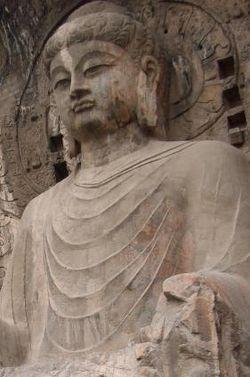 Buddha Vairocana, Longmen, VII secolo