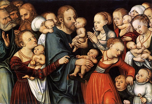 https://i2.wp.com/upload.wikimedia.org/wikipedia/commons/thumb/3/35/Lucas_Cranach_the_Elder_Christ_blessing_the_Children%2C_Frankfurt_am_Main%2C_St%C3%A4del_Museum.jpg/640px-Lucas_Cranach_the_Elder_Christ_blessing_the_Children%2C_Frankfurt_am_Main%2C_St%C3%A4del_Museum.jpg